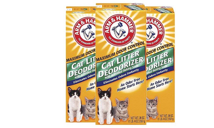 4 3 יח' מנטרל ריחות לחול חתולים Arm & Hammer