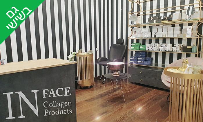 5 טיפולי פנים באורגניק קוסמטיקס, מלון הרודס תל אביב