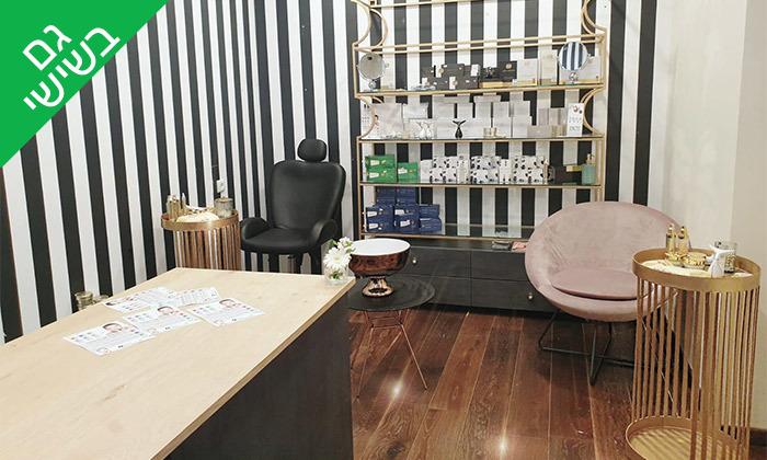 3 טיפולי פנים באורגניק קוסמטיקס, מלון הרודס תל אביב