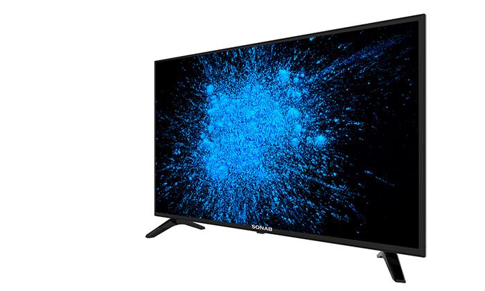 2 טלוויזיה חכמה 43 אינץ' SONAB