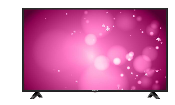2 טלוויזיה 4K חכמה 50 אינץ' SONAB
