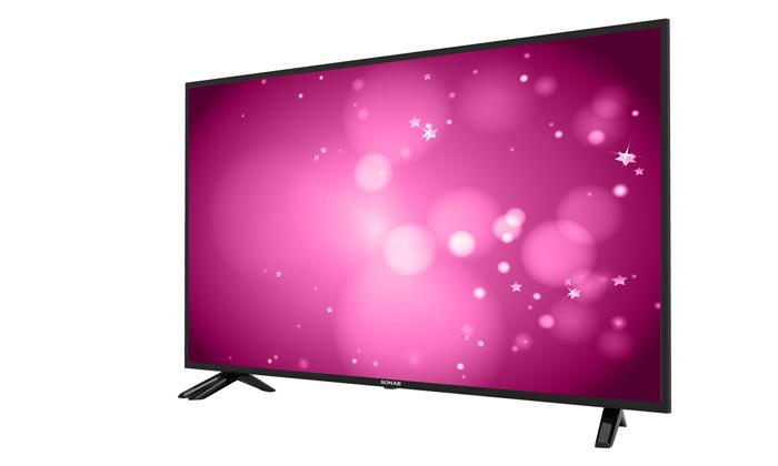 2 טלוויזיה חכמה 60 אינץ' Sonab 4K