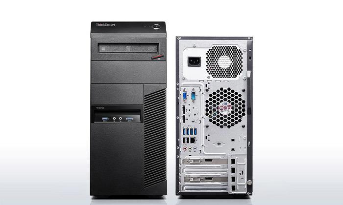 3 מחשב נייח מחודש לנובו Lenovo דגם M91P עם זיכרון 8GB ומעבד i5