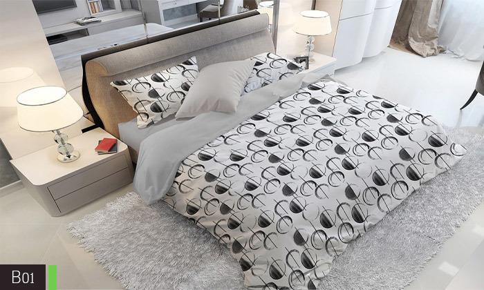 3 סט מצעים אל קמט ROMANTEX למיטת יחיד או זוגית