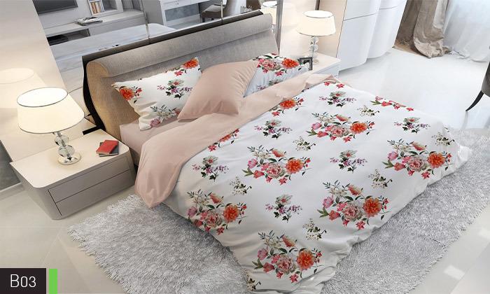 5 סט מצעים אל קמט ROMANTEX למיטת יחיד או זוגית