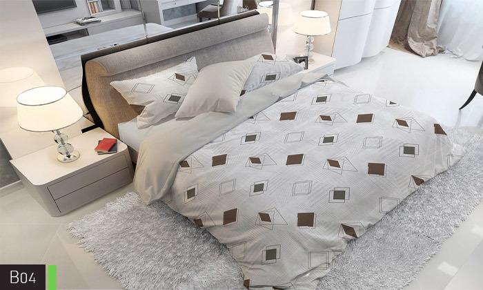 6 סט מצעים אל קמט ROMANTEX למיטת יחיד או זוגית