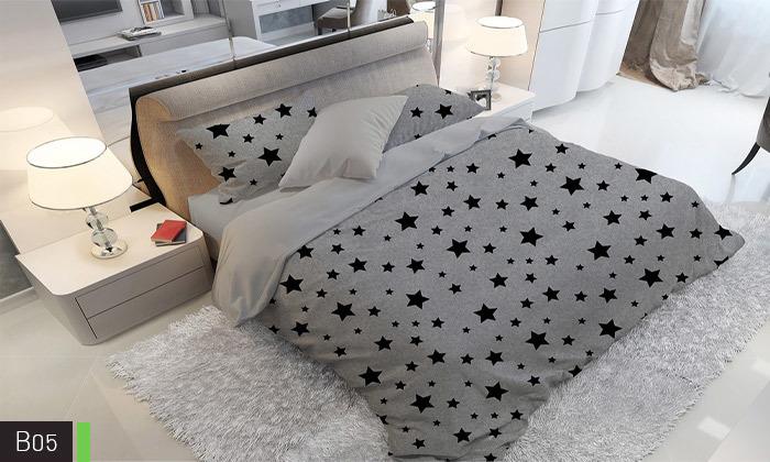 7 סט מצעים אל קמט ROMANTEX למיטת יחיד או זוגית