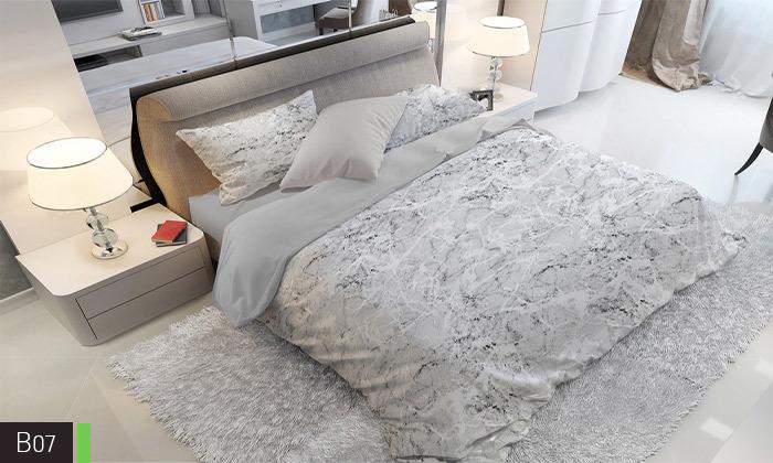 9 סט מצעים אל קמט ROMANTEX למיטת יחיד או זוגית