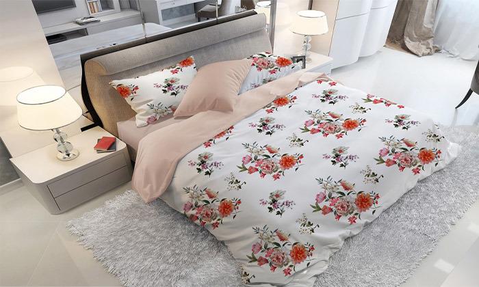11 סט מצעים אל קמט ROMANTEX למיטת יחיד או זוגית