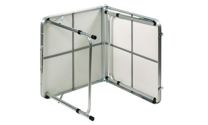 """3 שולחן פיקניק 120 ס""""מ מתקפל למזוודה"""