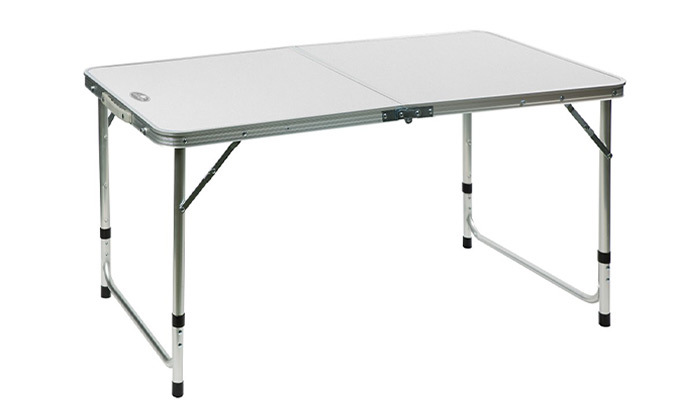 """5 שולחן פיקניק 120 ס""""מ מתקפל למזוודה"""