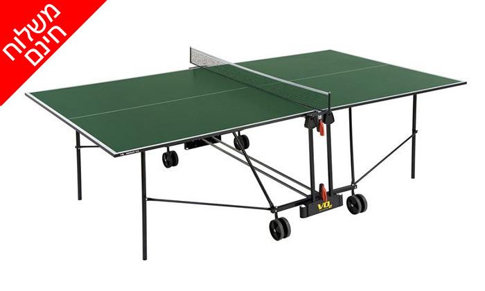 4 שולחן פינג פונג פנים VO2 דגם162in - משלוח חינם