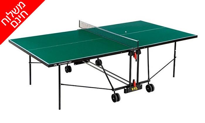 4 שולחן פינג פונג חוץ VO2 דגם162out - משלוח חינם