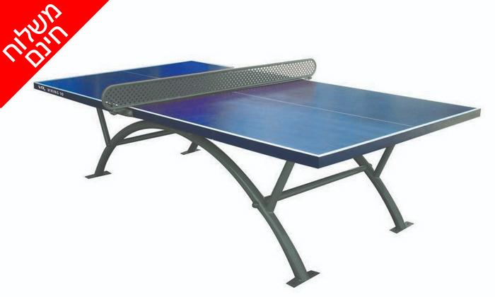 2 שולחן פינג פונג חוץ קבועViking10 - משלוח חינם