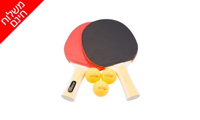 3 שולחן פינג פונג חוץ VO2 דגםBluesky7, כולל משלוח חינם וסט מחבטים וכדורים