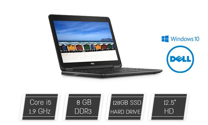 2 מחשב נייד DELL עם מסך 12.5 אינץ'