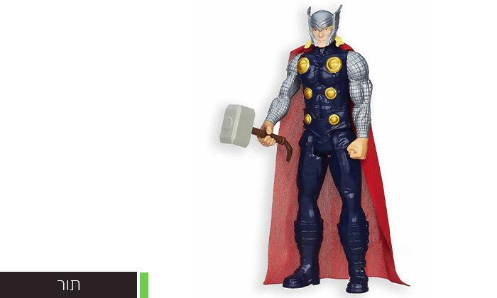12 מארז 3 דמויות גיבורי על מארוול MARVEL לבחירה