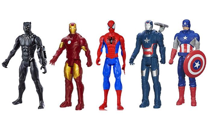 2 מארז 3 דמויות גיבורי על מארוול MARVEL לבחירה