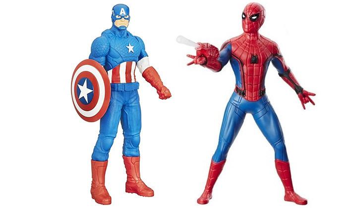 בובת ספיידרמן או קפטן אמריקה MARVEL