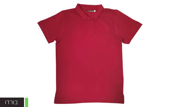 7 מארז 5 חולצות פולו או טי שירט לגברים Ecko Unltd