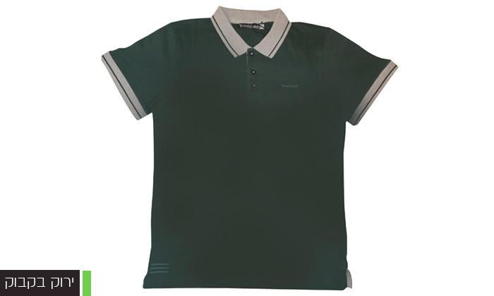 5 מארז 5 חולצות פולו או טי שירט לגברים Ecko Unltd