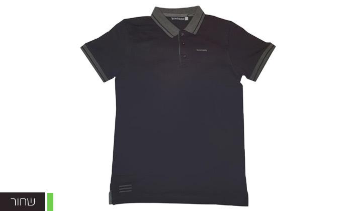 4 מארז 5 חולצות פולו או טי שירט לגברים Ecko Unltd