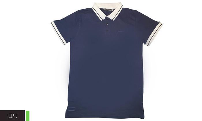 9 מארז 5 חולצות פולו או טי שירט לגברים Ecko Unltd