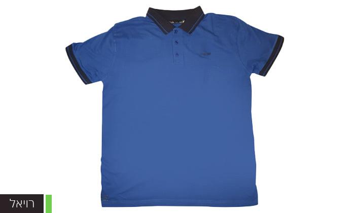 10 מארז 5 חולצות פולו או טי שירט לגברים Ecko Unltd