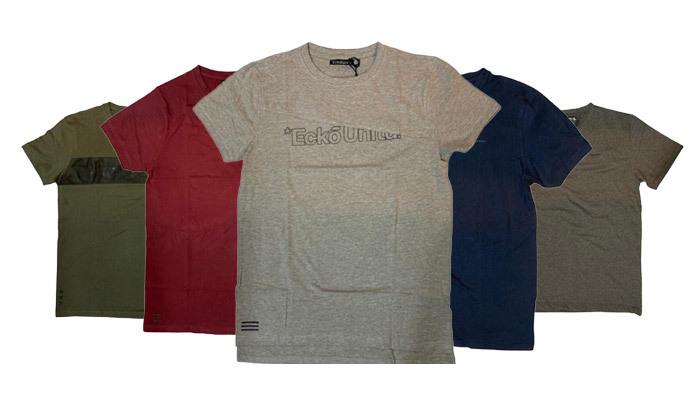 3 מארז 5 חולצות פולו או טי שירט לגברים Ecko Unltd