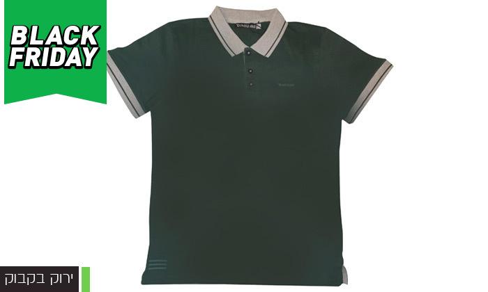 4 מארז 3 חולצות פולו לגברים Ecko Unltd