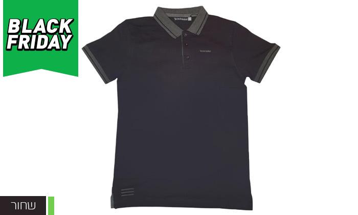 3 מארז 3 חולצות פולו לגברים Ecko Unltd