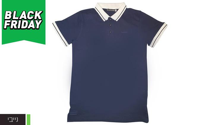 8 מארז 3 חולצות פולו לגברים Ecko Unltd