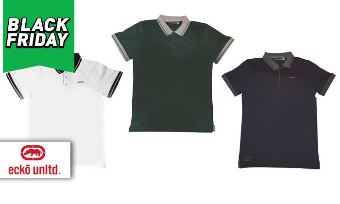 2 מארז 3 חולצות פולו לגברים Ecko Unltd