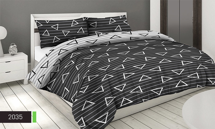 3 סט ציפה וציפית 100% כותנה ROMANTEX למיטת יחיד או זוגית