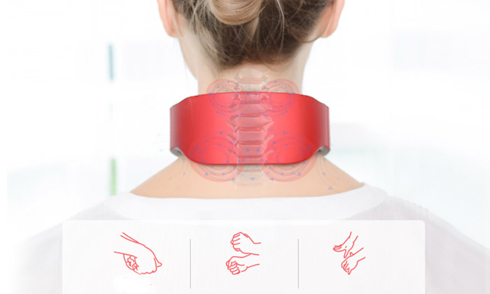6 מכשיר עיסוי טיפולי לצוואר
