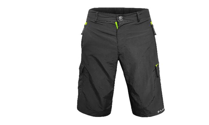 2 מכנסי רכיבה עם פד מובנה Baggies Policoro - משלוח חינם
