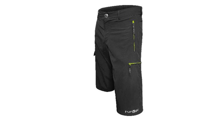 3 מכנסי רכיבה עם פד מובנה Baggies Policoro - משלוח חינם