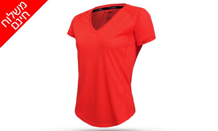 4 זוג חולצות ריצהלנשים - משלוח חינם