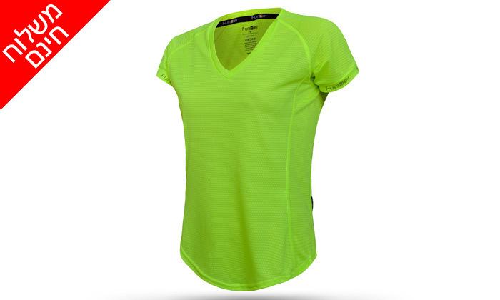 6 זוג חולצות ריצהלנשים - משלוח חינם