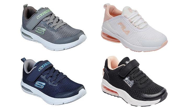2 נעלי ספורט Skechers לבנים או FILA לבנות