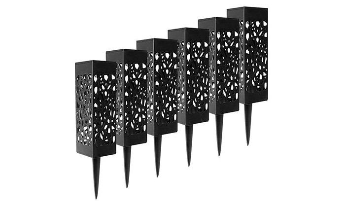 4 מארז 6 דוקרני תאורה סולאריים מעוצבים MiniMaxx
