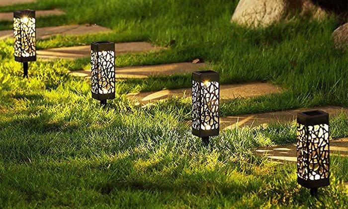 6 מארז 6 דוקרני תאורה סולאריים מעוצבים MiniMaxx