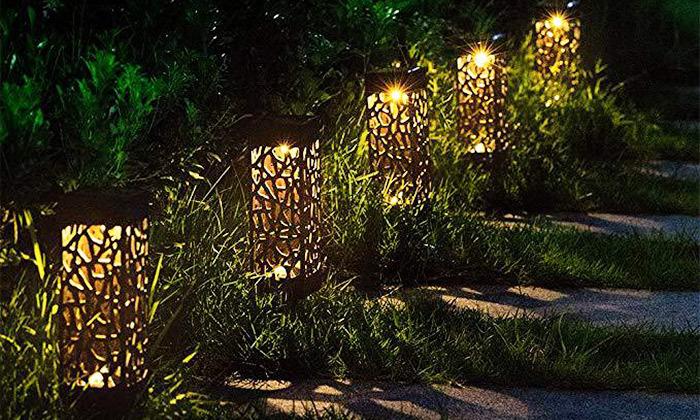 5 מארז 6 דוקרני תאורה סולאריים מעוצבים MiniMaxx