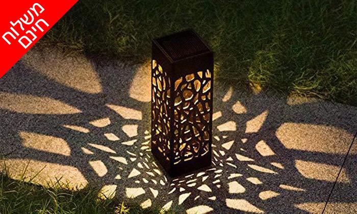 3 מארז 6 דוקרני תאורה סולאריים מעוצבים MiniMaxx - משלוח חינם