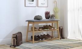 ספסל ישיבה לאחסון נעליים