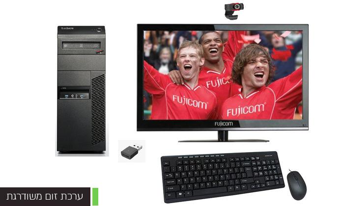 4 מחשב נייח LENOVO או HP כולל מסך ואביזרים - משלוח חינם