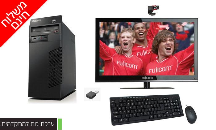 3 מחשב נייח LENOVO בדגם לבחירה כולל מסך ואביזרים - משלוח חינם