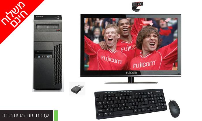4 מחשב נייח LENOVO בדגם לבחירה כולל מסך ואביזרים - משלוח חינם