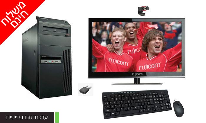 5 מחשב נייח LENOVO בדגם לבחירה כולל מסך ואביזרים - משלוח חינם