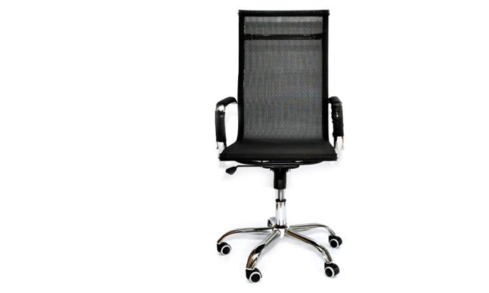 4 כיסא מנהל אורתופדי ROSSO ITALY